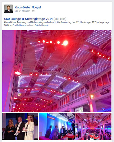 Bild Facebook Klaus-Dieter Floegel CXO Lounge IT Strategietage 2014 Hamburg